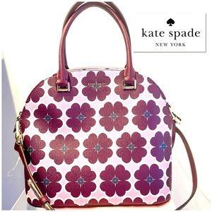 Kate Spade 'Sylvia Graphic Clover' Satchel